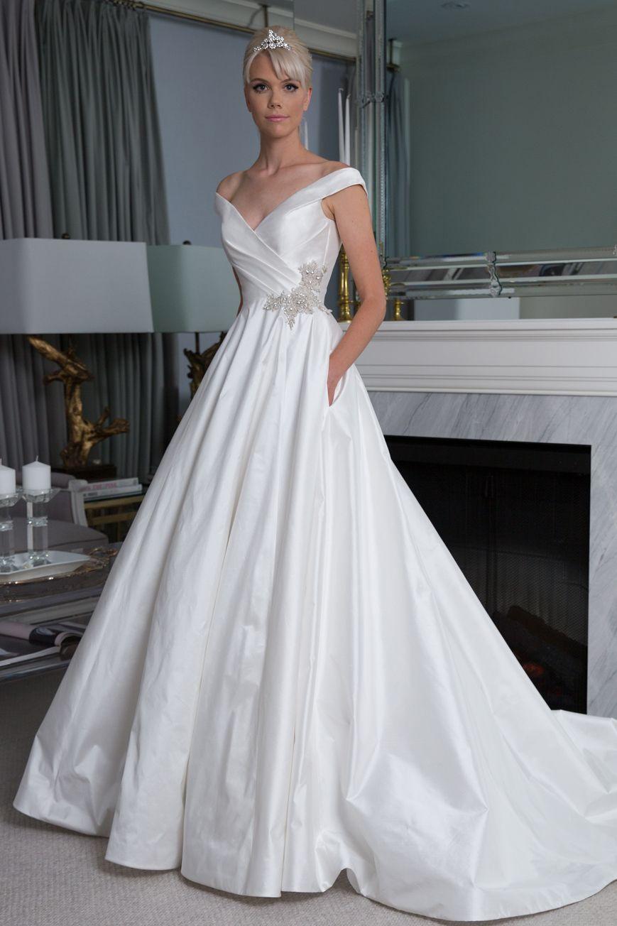 Legends Romona Keveza Style L9157 A Line Wedding Dress Ball
