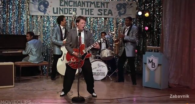 Johnny B Goode Back To The Future Movie Clip Back To The