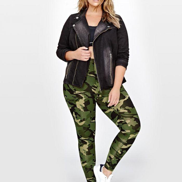 plus size pull on camo leggings best | plus size clothing