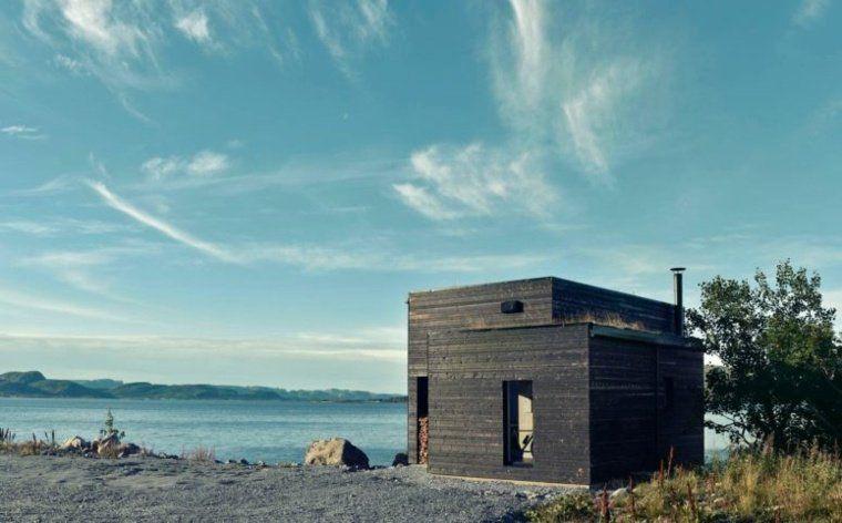 Petite maison en bois ultra moderne en Norvège | Petite and Architecture