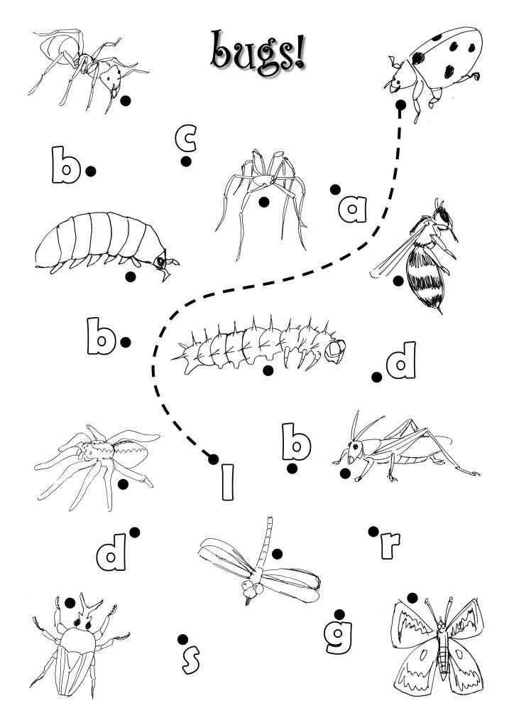 Bugs Worksheet by azamiryou.deviantart.com on @deviantART
