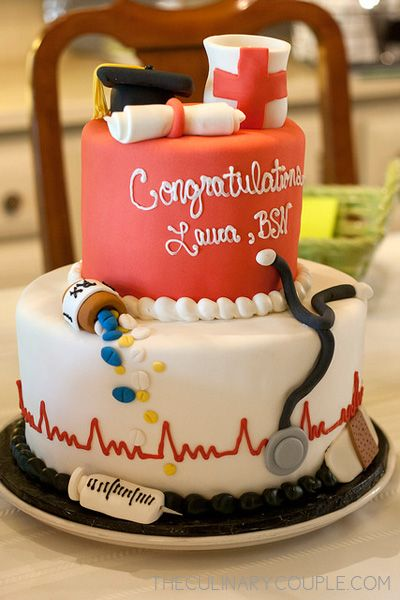 Graduation Party For The Nursing Student