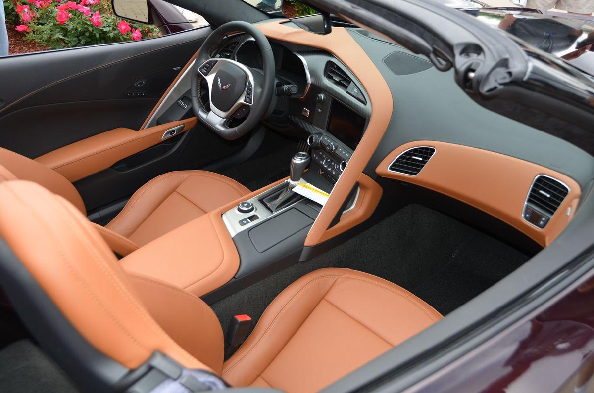2017 Corvette Grand Sport Black Rose Metallic And Kalahari Interior Gallery