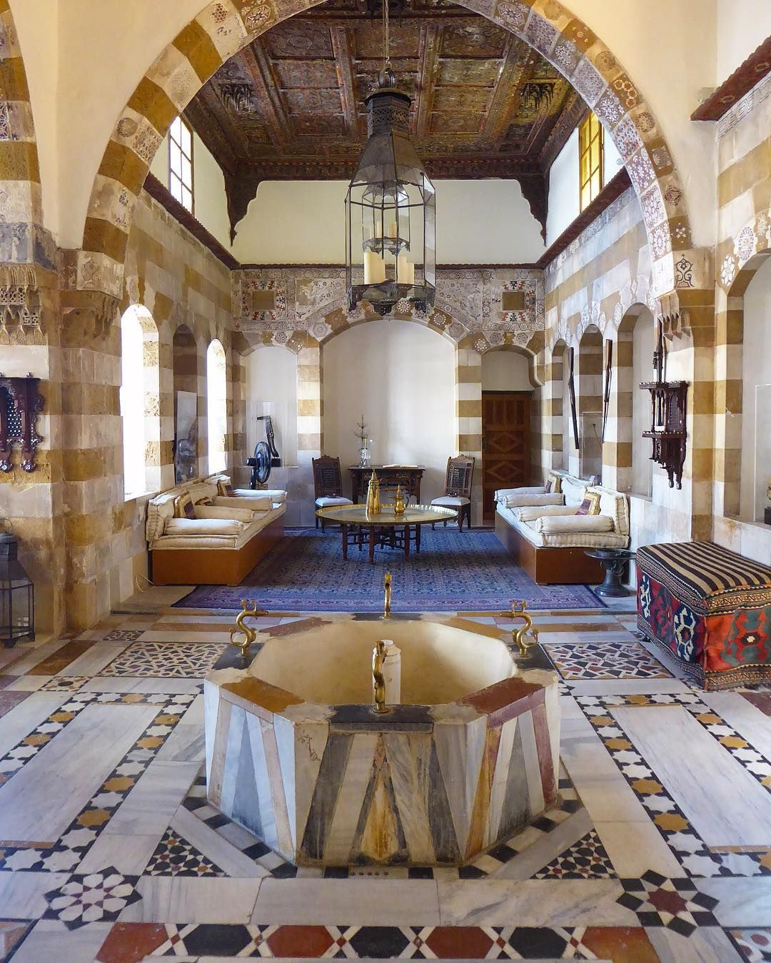 The 18th Century Arab Ottoman Debbane Palace In The Old City Of