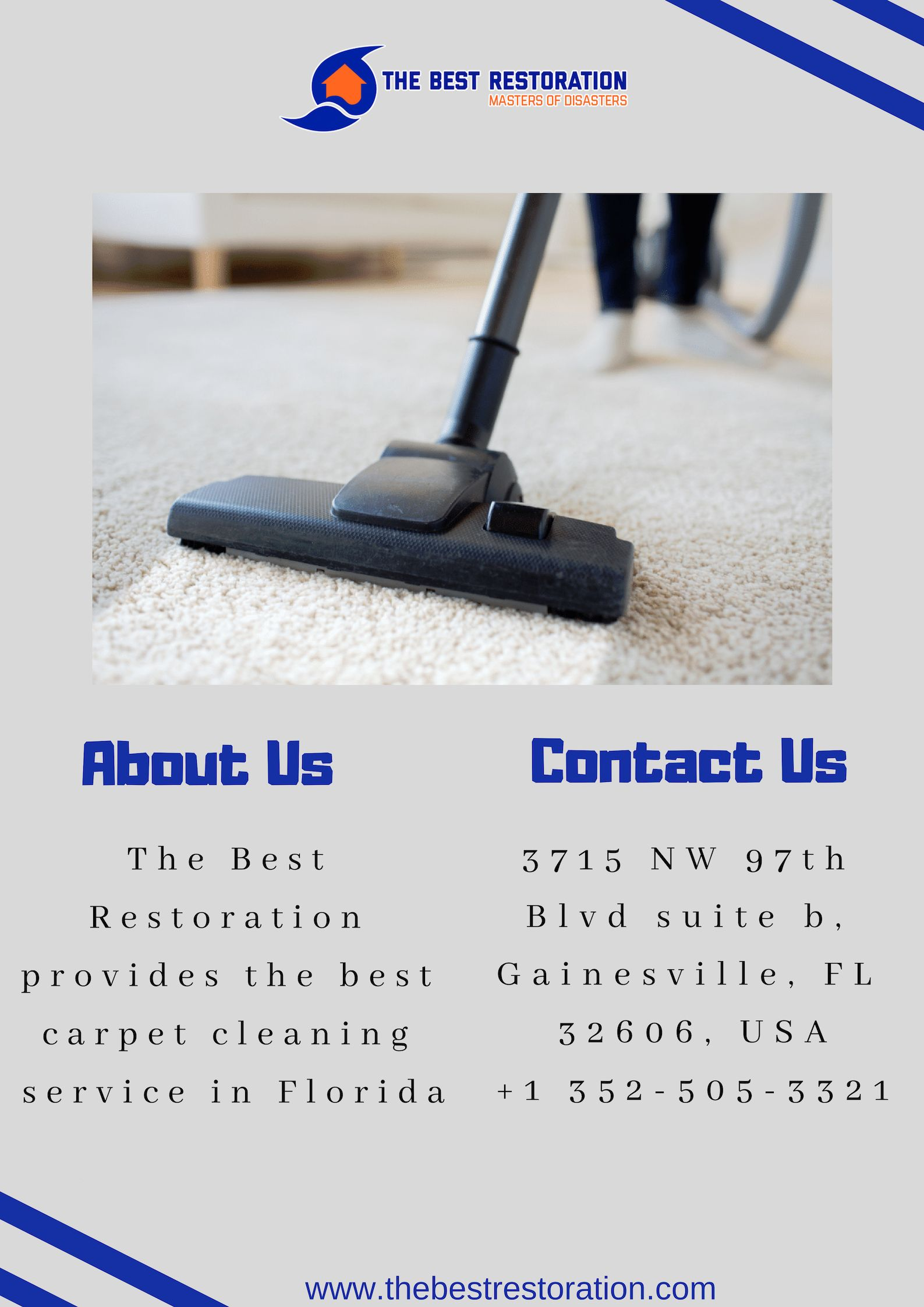 The Best Restoration Provides One Of The Best Carpet Cleaning Services In Florida Call Us Now How To Clean Carpet Carpet Cleaning Service Carpet