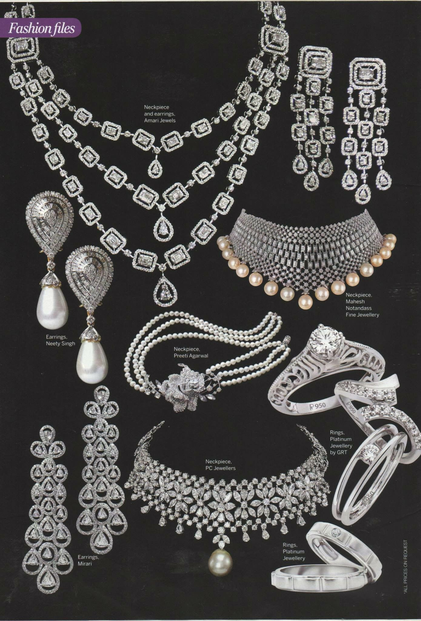 Bridal classics necklace sets mj 259 - Jewellery