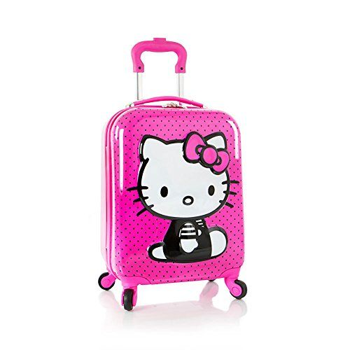 Heys Hello Kitty 3D Spinner Luggage Case ** Additional info @ http://www.myvacationdestinations.com/store/heys-hello-kitty-3d-spinner-luggage-case/?no=010716130809