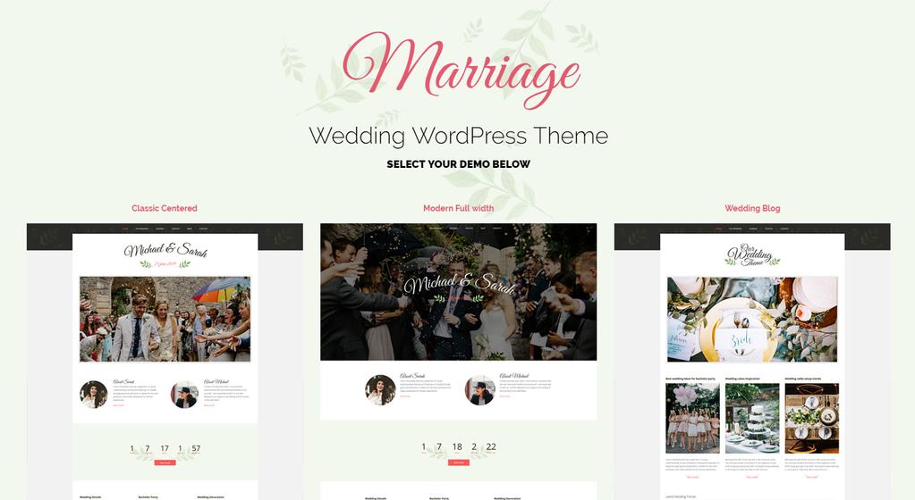 10 Best Wordpress Themes For Wedding Planner Create A Stunning Website Wedding Planning Websites Wedding Planning Wedding Website