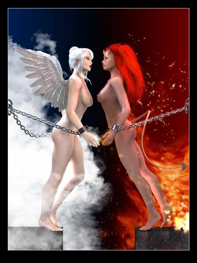 Fallen angel and porn