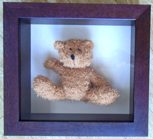Old Teddy Bear; Cherished Childhood Memories Preserved in Deep Box ...