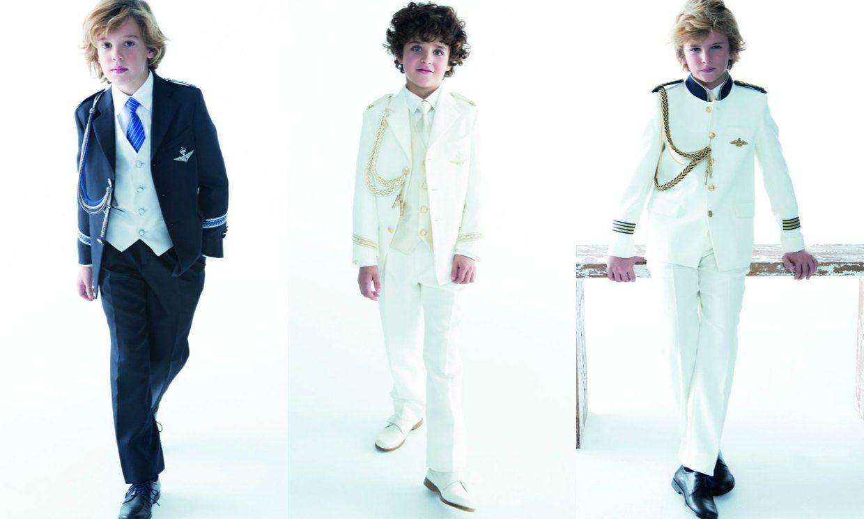 moda y nios elegancia estilo trajes de comunion para nios tndencia