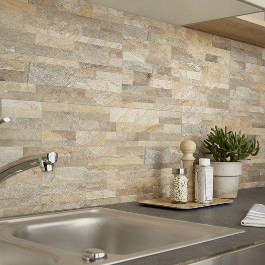 Carrelage Mur Ocre, Muretto L.30 X L.60.4 Cm | Maison | Pinterest