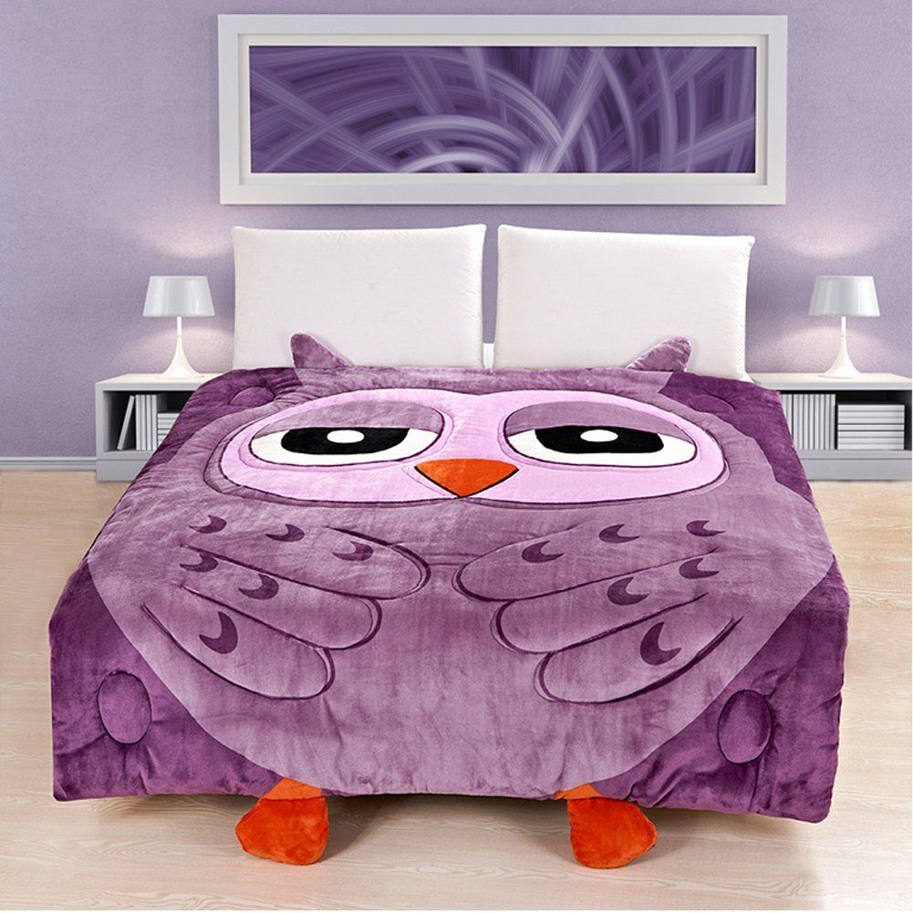 Totoro Bettwäsche Memorecool Upgrade Flannel Totoro Bed Cover Cute Cartoon Comforter