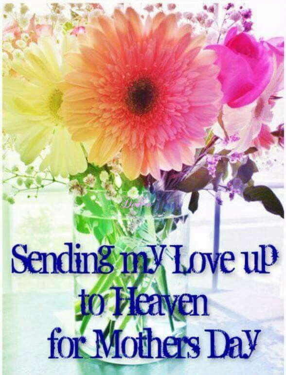 Mother S In Heaven Happy Mom Day Mother S Day In Heaven Mother In Heaven