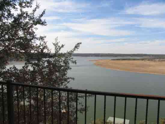 Wonderful view of Lake Travis from your deck