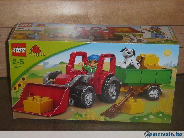 lego duplo le tracteur ref 5647 a vendre tracteur achille pinterest tracteurs. Black Bedroom Furniture Sets. Home Design Ideas
