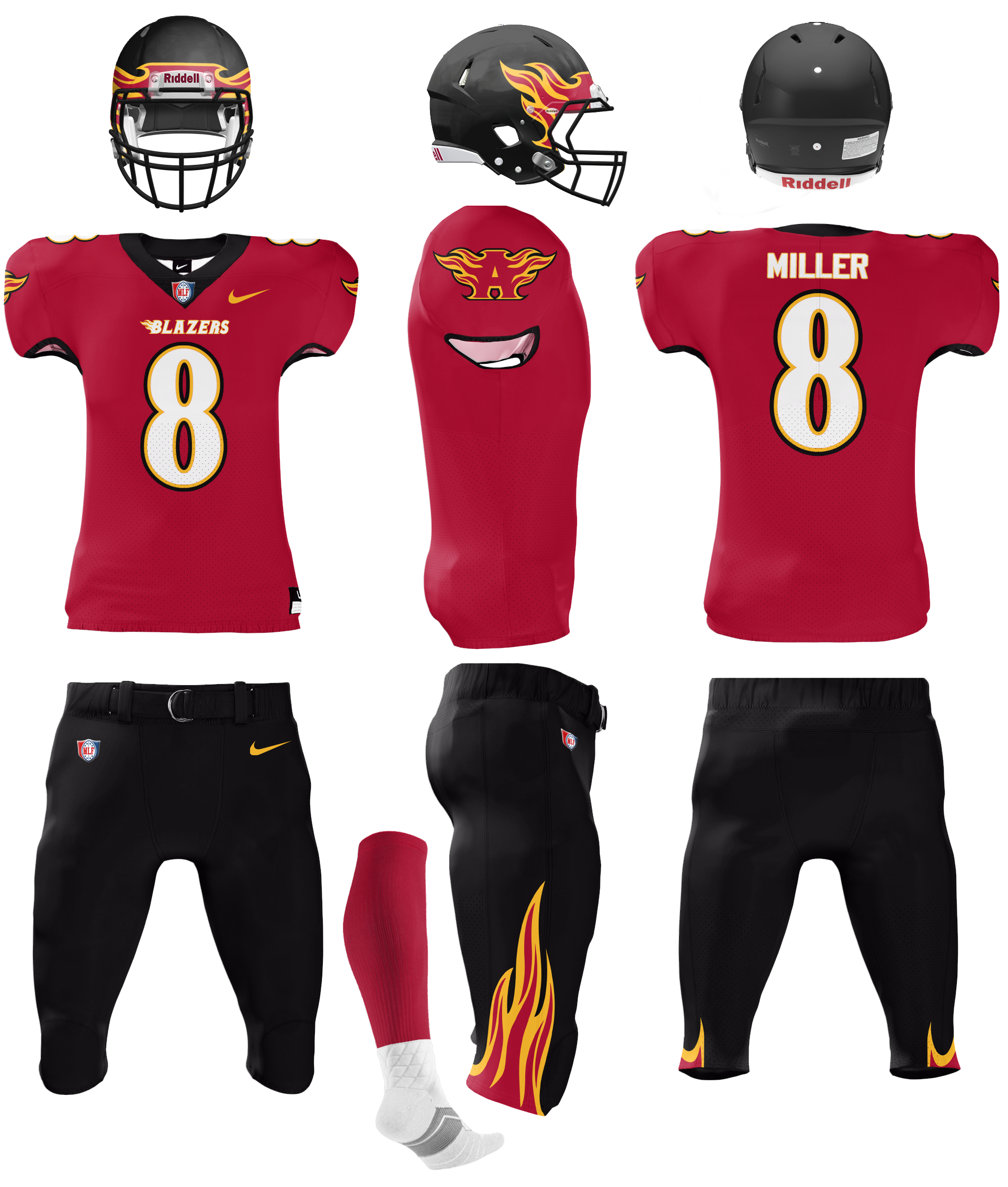 Major League Football Is Back And Better Than Ever Concepts Chris Creamer S Sports Logos Community Ccslc Sportslo In 2020 Major League Football Uniforms League