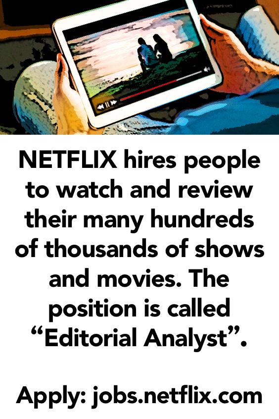 How to Get Paid to Watch Netflix | Make Money | Netflix