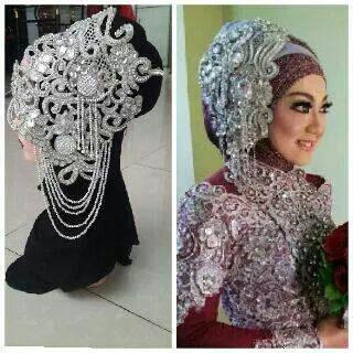 Aksesoris Baju Pernikahan Pengantin Agar Penampilan Maksimal Pengantin Pernikahan Pengantin Muslim