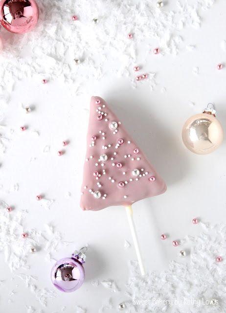 Christmas Pops Cake Pops Honey Cake Honigkuchen am Stiel ...