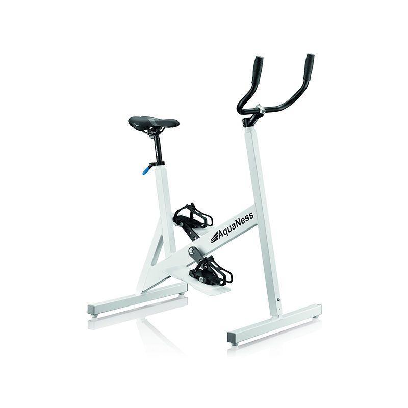 Velo De Piscine Aquabike Aquaness V3 Blanc Stationary Gym