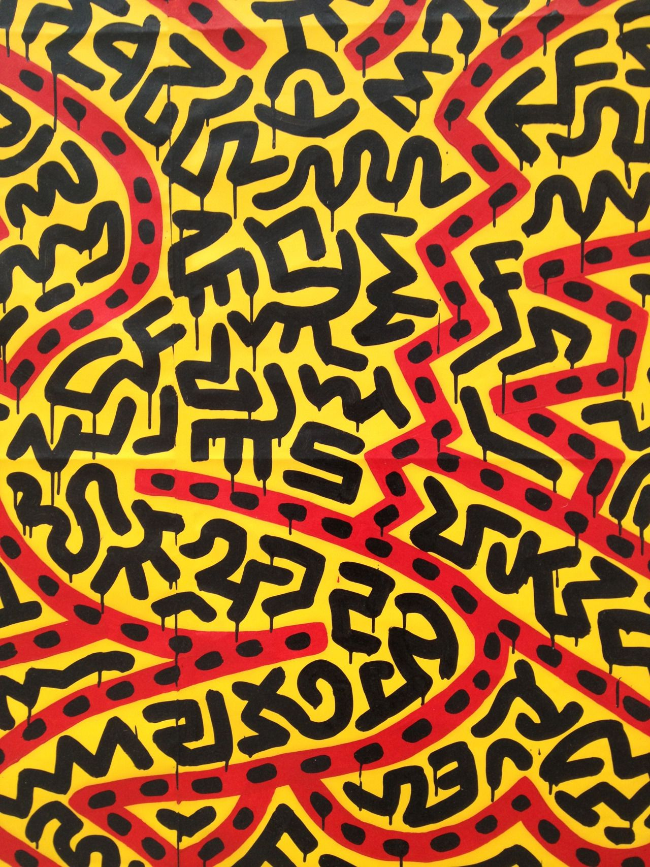 Keith Haring Keith Haring Pattern Design Inspiration Pop Art