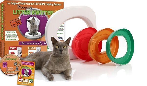 Le kit d'apprentissage pour que votre chat utilise les WCs. Finie la corvée de la litière à nettoyer pour une meilleure hygiène ! - La Litière du Chat, le site qui vous fera aimer faire la litière... Conseils, matériels, accessoires, comparateur de prix des litières : tout ce qu'il faut savoir pour la litière de votre chat !