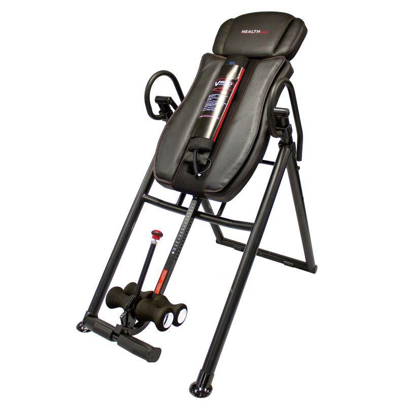 Health gear big tall heat massage inversion table