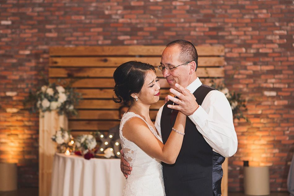 Father Daughter Dance At Colony House Wedding Reception