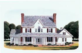 Elevation Of Country Farmhouse House Plan 95588Jenn And Laura This Is What I Want For Mothers Day
