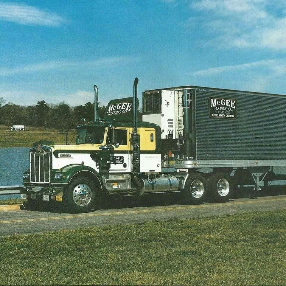 kw mcgee transportation look like in 1970s or 1980s kenworth trucks kenworth trucks trucks. Black Bedroom Furniture Sets. Home Design Ideas