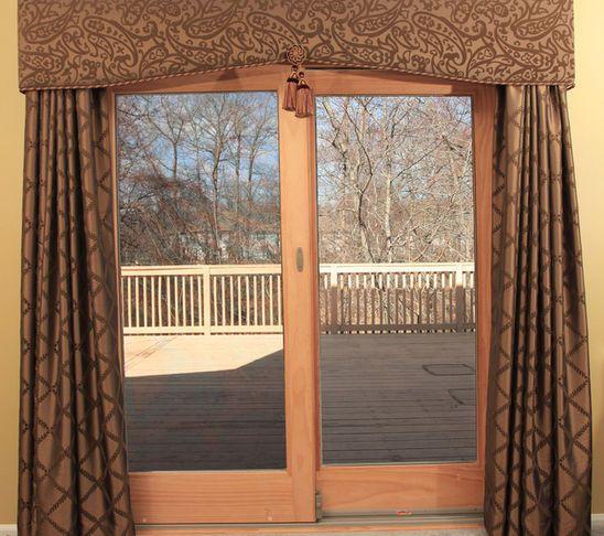 curtains for sliding glass doors -   Patio door window ...