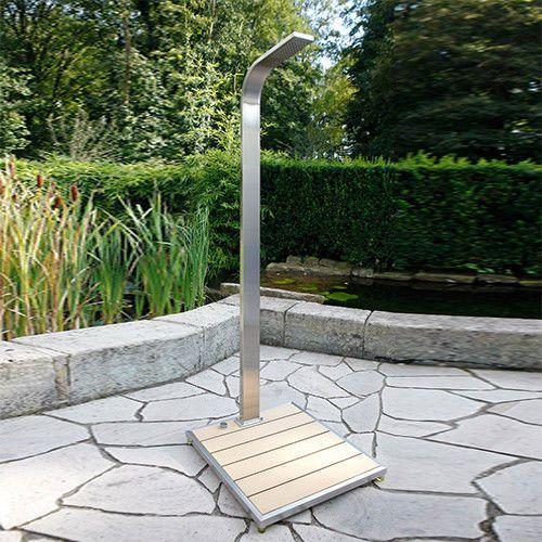 Details zu Pool Dusche Gartendusche Ideal Eichenwald
