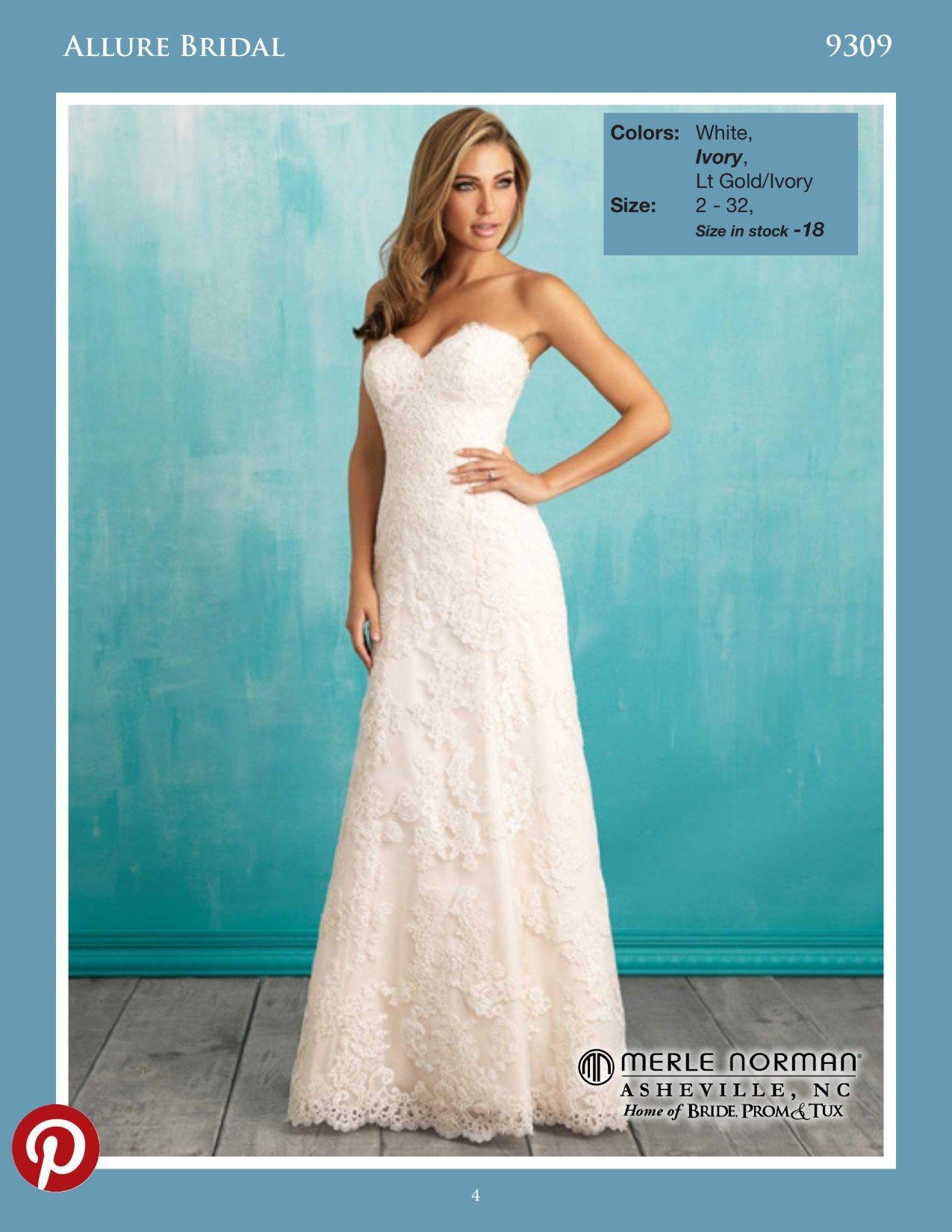 Allure 9309 | Allure Bridals | Pinterest | Prom tux and Allure bridal