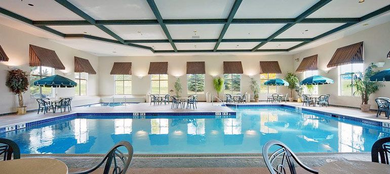 Comfort Suites Madison Indoor Pool Whirlpool And Fitness Center