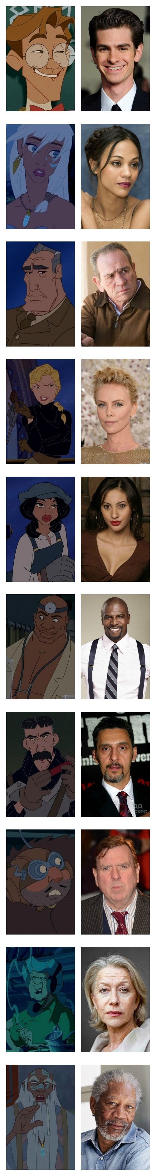 Okay Disney Im Waiting For My Live Action Movie With This Cast Now