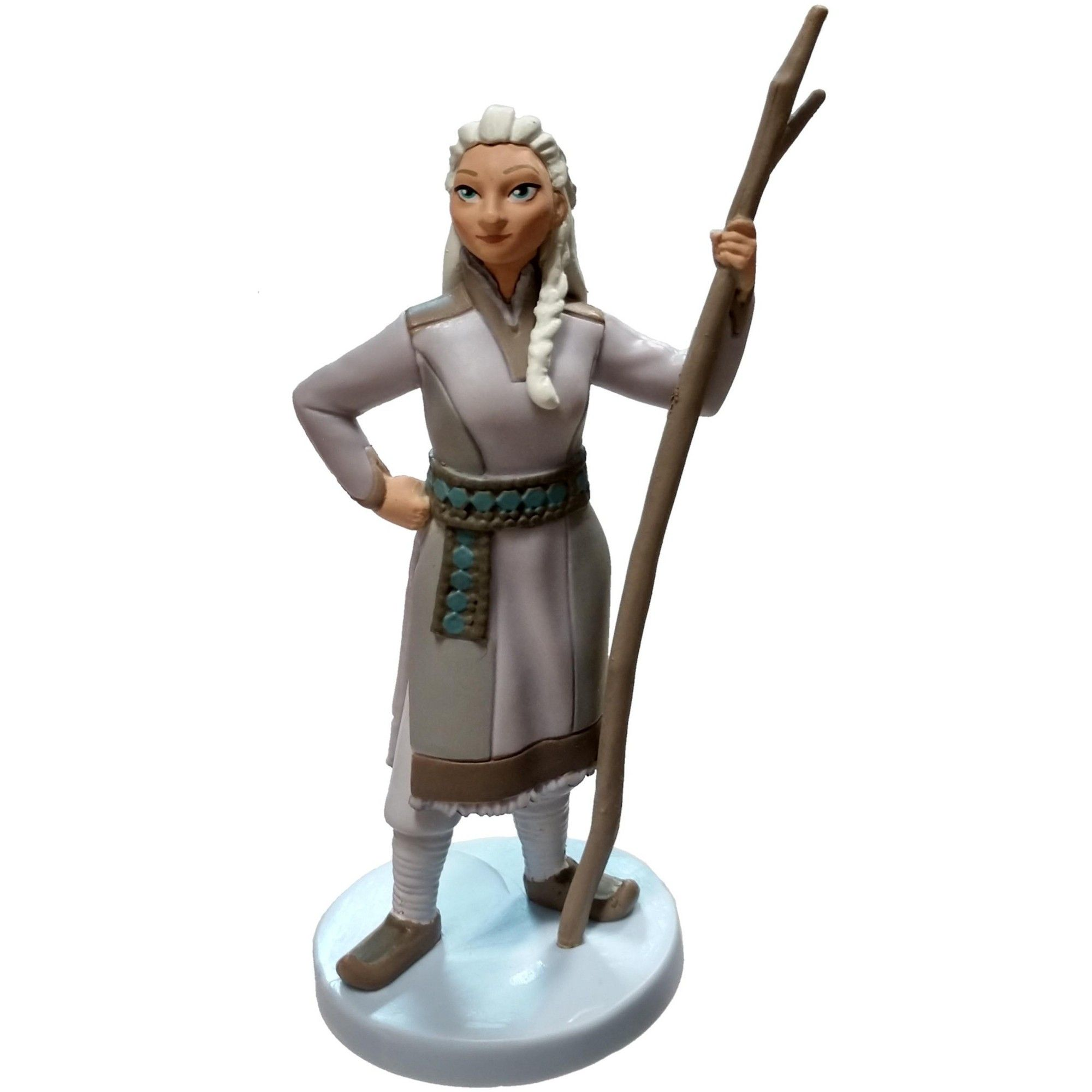 "Disney Frozen 2 Elsa Sister Anna 4/"" PVC Figure Figurine Loose Cake Topper NEW"