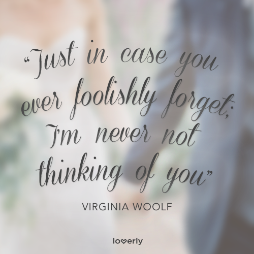Thinking Of You Quotes Classy Just In Case You Ever Foolishly Forget I'm Never Not Thinking Of . Review