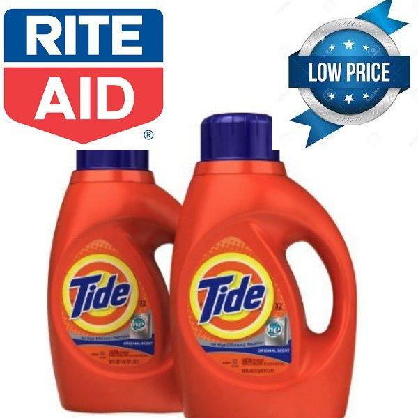Rite Aid 2 27 Tide Liquid Detergent A 10 Value Free Samples