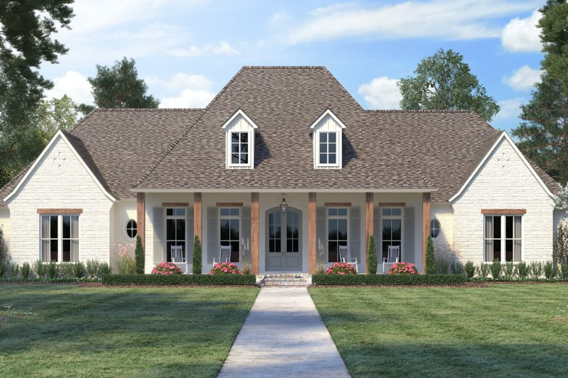 Southern Style House Plan 4 Beds 3 Baths 3273 Sq Ft Plan 1074 17 In 2020 Acadian House Plans Farmhouse Style House Country Style House Plans