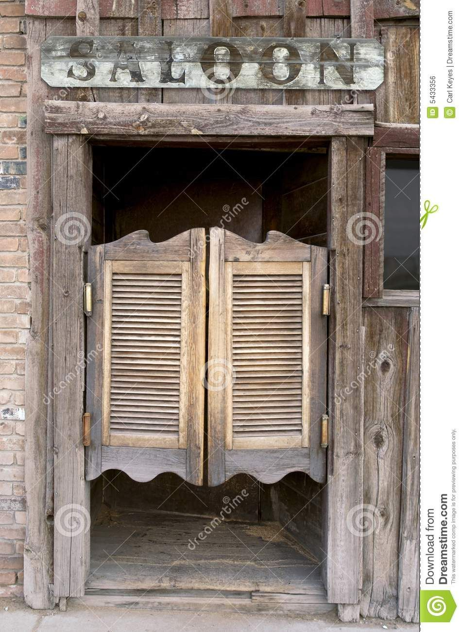 Old western swinging saloon doors download from over 27 for Salon western