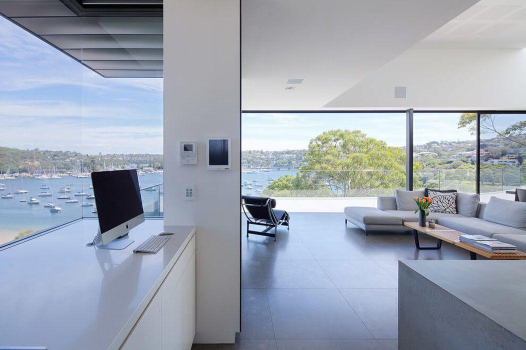 Moderne Maison Avec Vue Splendide Au Cœur De Sydney Intérieur - Porte placard coulissante jumelé avec serrurier bagnolet