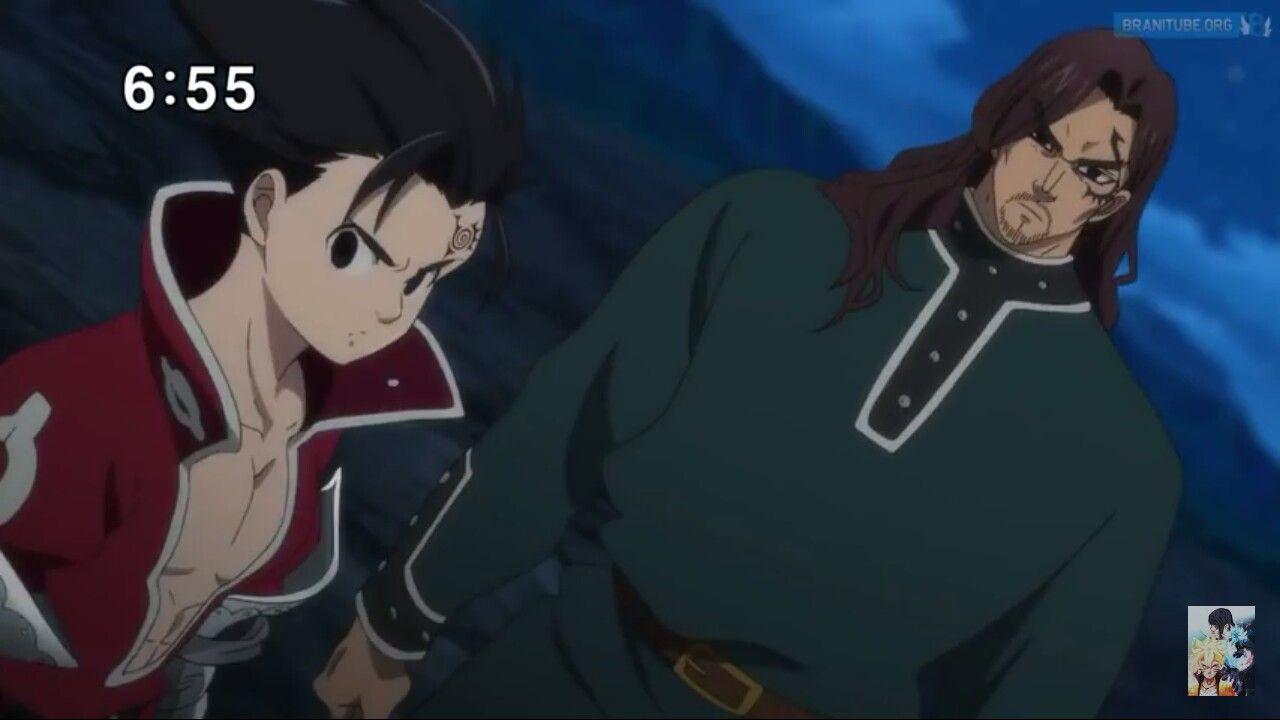Zeldris And Fraudrin Nanatsu No Taizai Nanatsu Natsu 7 Pecados