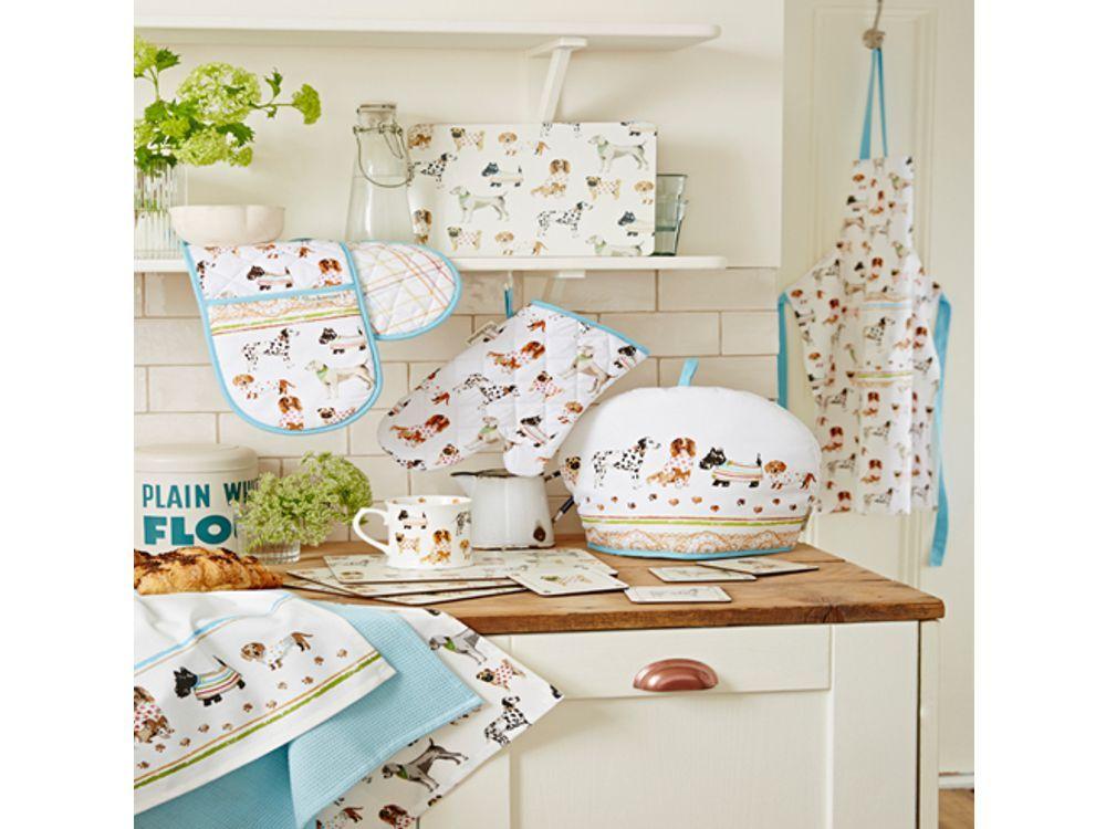 Hunde Ofenhandschuh Dogs in the Kitchen - Tierisch-tolle-Geschenke