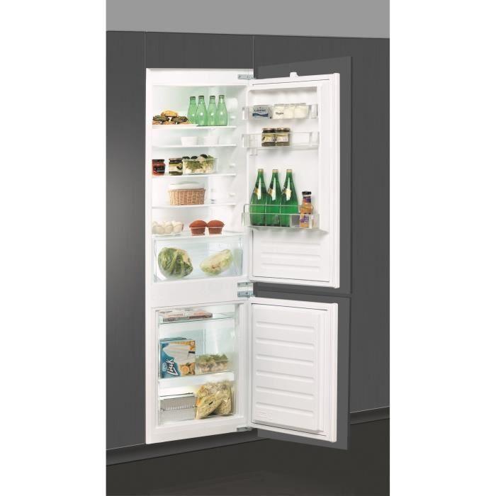 Whirlpool Art6502 A Refrigerateur Congelateur Bas Encastrable 275l 195 80 Froid Statique A L 54cm X H 177cm En 2020 Refrigerateur Congelateur Encastrable Refrigerateur Encastrable Refrigerateur Congelateur