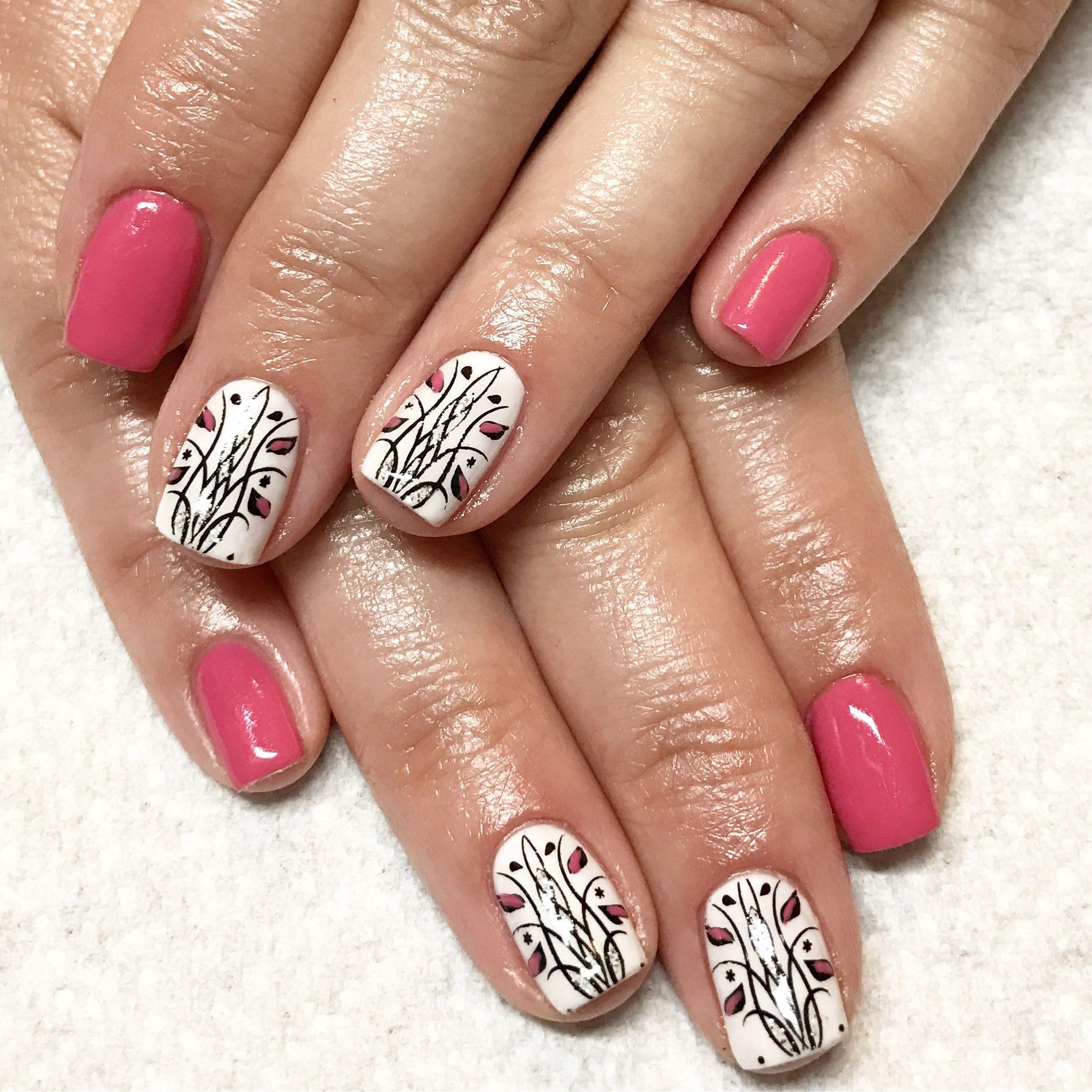 Gel nails natural nails pink nails tulip nail art spring nails gel nails natural nails pink nails tulip nail art spring nails prinsesfo Images