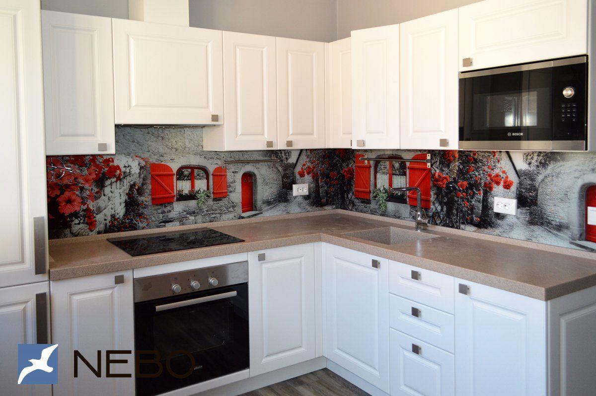 Скинали для кухни - фото готовых работ | Небольшие кухни ...