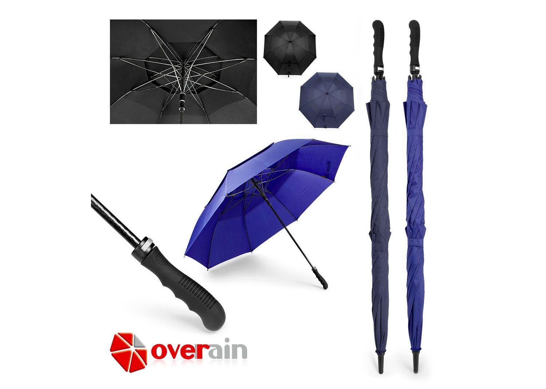 PA0117 Paraguas 30 Enzo. Paraguas 30 x 8 cascos, marco en fibra de ...