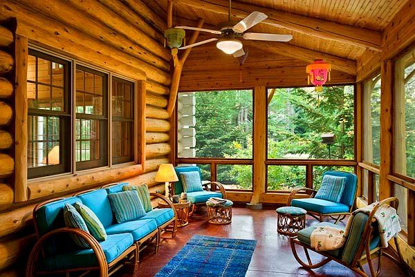 Artistic Porch Sittin Stacaravan Tuin