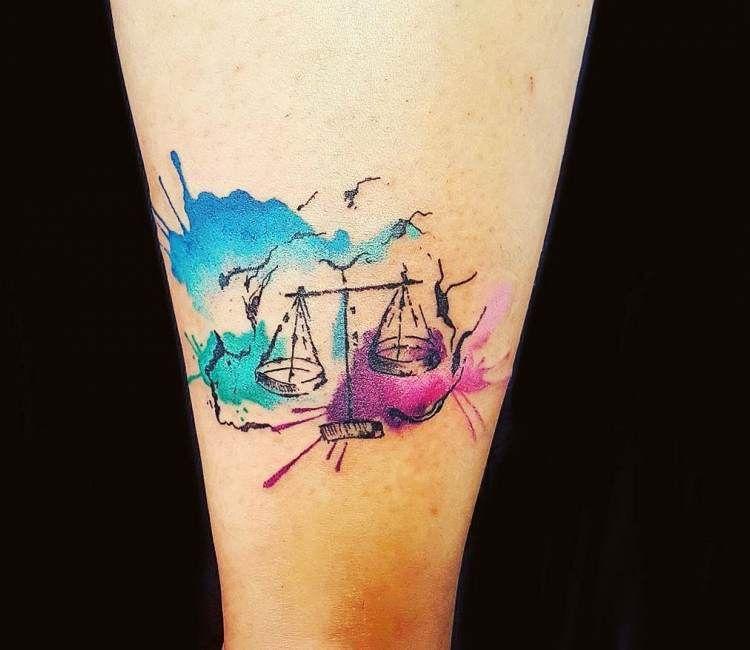 Libra Tattoo 40